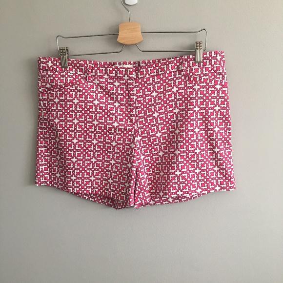 Laundry By Shelli Segal Pants - Laundry Magenta Printed Shorts